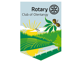 Olentangy Rotary Club banner